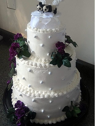 wedding cakes colorado springs a piece of cake catering. Black Bedroom Furniture Sets. Home Design Ideas